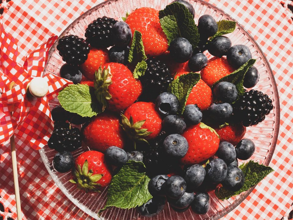 Health properties of berries